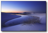 White Sands : Sunrise Pond