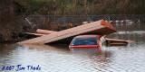 Lumber on car