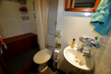our attached bathroom
