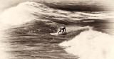 Surfer - Hookipa Beach, Maui, Hawaii