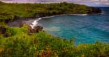 Black Sand Beach, Wainapanapa State Park, Maui, Hawaii
