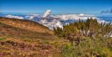 Above the clouds, Leleiwi Overlook, Haleakala, Maui, Hawaii