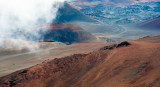 Dramatic landscape of Haleakala National Park (2), Maui, Hawaii