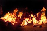kecak on fire