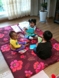 Playing with cousins @ Seoul