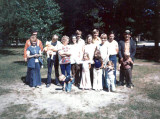 This shot was taken around 1976. It shows Harold Everette Robinson, his wife Lucille Alena [Mattson] Robinson, their children & grandchildren. It was donated by, Amy Lynn [Robinson] Piar, daughter of Harold Everett Robinson II.