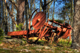 Old machinery HDR