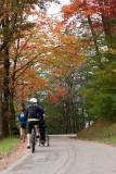 Riding on an Autumn Day