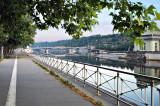 The Vltava at 6am