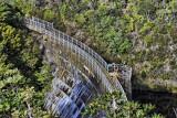 Concrete arch dam - Upper Reservoir, Karori Wildlife Sanctuary