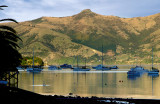 Akaroa Harbour on a calm morning