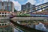 Footbridge over Singapore River