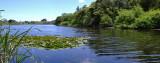Lake Waikawa - 2 shot panorama