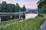 Dawn on the Vltava