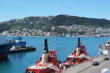 tugboats and Harbour