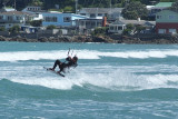 Kite Surfing at Lyall Bay