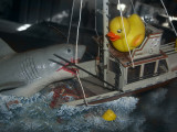 Lucky Meet Jaws by Artshot Sue