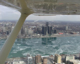 RenCen From 1600 Feet. By Candian Club.