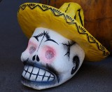 Calavera with Sombrero