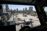 View of Flight Deck from Aviation Bridge