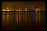 Oakland - skyline at night