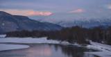 First Light on Chilkat Mountains - Alaska
