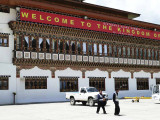 Arrival Hall in Paro Airport