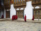 Punakha Dzong inner courtyard