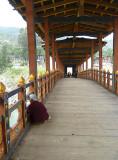 Covered Bridge leading to Panukha Dzong