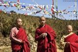 Monks on Pela La (Pass)