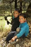 Boys in Rukubji village