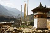 Rinchengang w Wangdue Dzong