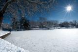 Bucks County in the snow