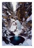 First Falls Johnston Canyon Banff
