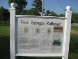 First Georgia Railroad - Sign 7a - For READABLE Go To Next Image