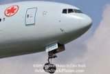 2009 - the first B777-300 to ever land at Miami:  Air Canada B777-333/ER C-FIUR airline aviation stock photo #3118