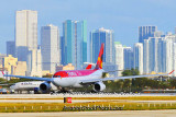 Colombian Aircraft Airline Aviation Stock Photos