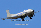 TMF Aircraft R4D-8 Super DC-3 N587MB cargo airline aviation stock photo #5228
