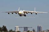 Antonov Design Bureau An-225 Mriya UR-82060 on approach to 26L at MIA aviation stock photo #5361