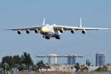 Antonov Design Bureau An-225 Mriya UR-82060 on approach to 26L at MIA aviation stock photo #5362