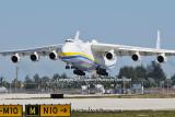 Antonov Design Bureau An-225 Mriya UR-82060 on approach to 26L at MIA aviation stock photo #5363