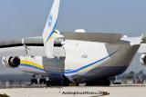 Antonov Design Bureau An-225 Mriya UR-82060 landing on runway 26L at MIA aviation stock photo #5367