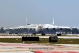 Antonov Design Bureau An-225 Mriya UR-82060 rolling out on runway 26L at MIA aviation stock photo #5370