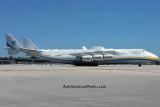 Antonov Design Bureau An-225 Mriya UR-82060 taxiing on the Northeast Base at MIA aviation stock photo #0706