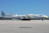 Antonov Design Bureau An-225 Mriya UR-82060 taxiing on the Northeast Base at MIA aviation stock photo #0708