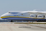 Antonov Design Bureau An-225 Mriya UR-82060 taxiing to the Northeast Base at MIA aviation stock photo #5373