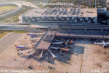 2007 - aerial view of Ft. Lauderdale-Hollywood International Airport Terminal 1 east half aviation stock photo #2669