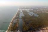 2007 - John U. Lloyd State Park and Dania Beach aerial stock photo #2670