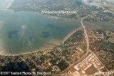 2007 - Oldsmar (lower) and Safety Harbor (upper) landscape aerial stock photo #2836