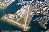 2007 - Albert Whitted Airport (SPG), St. Petersburg, Florida aerial stock photo #2855C